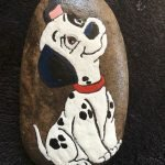 40 Favorite DIY Painted Rocks Animals Dogs For Summer Ideas (10)