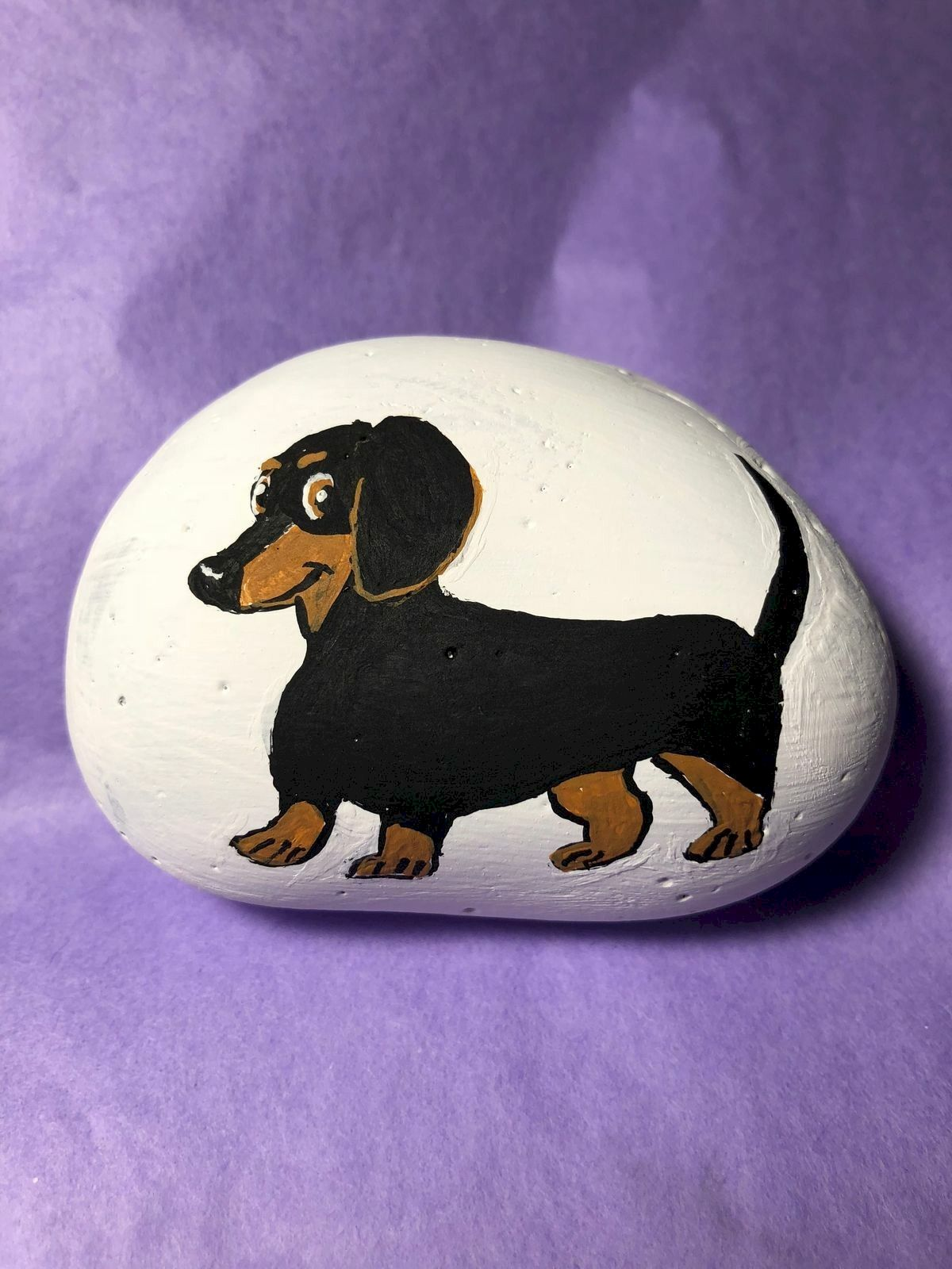 40 Favorite DIY Painted Rocks Animals Dogs for Summer Ideas (11)