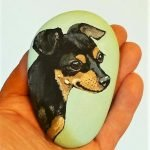 40 Favorite DIY Painted Rocks Animals Dogs For Summer Ideas (12)