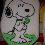 40 Favorite DIY Painted Rocks Animals Dogs For Summer Ideas (13)