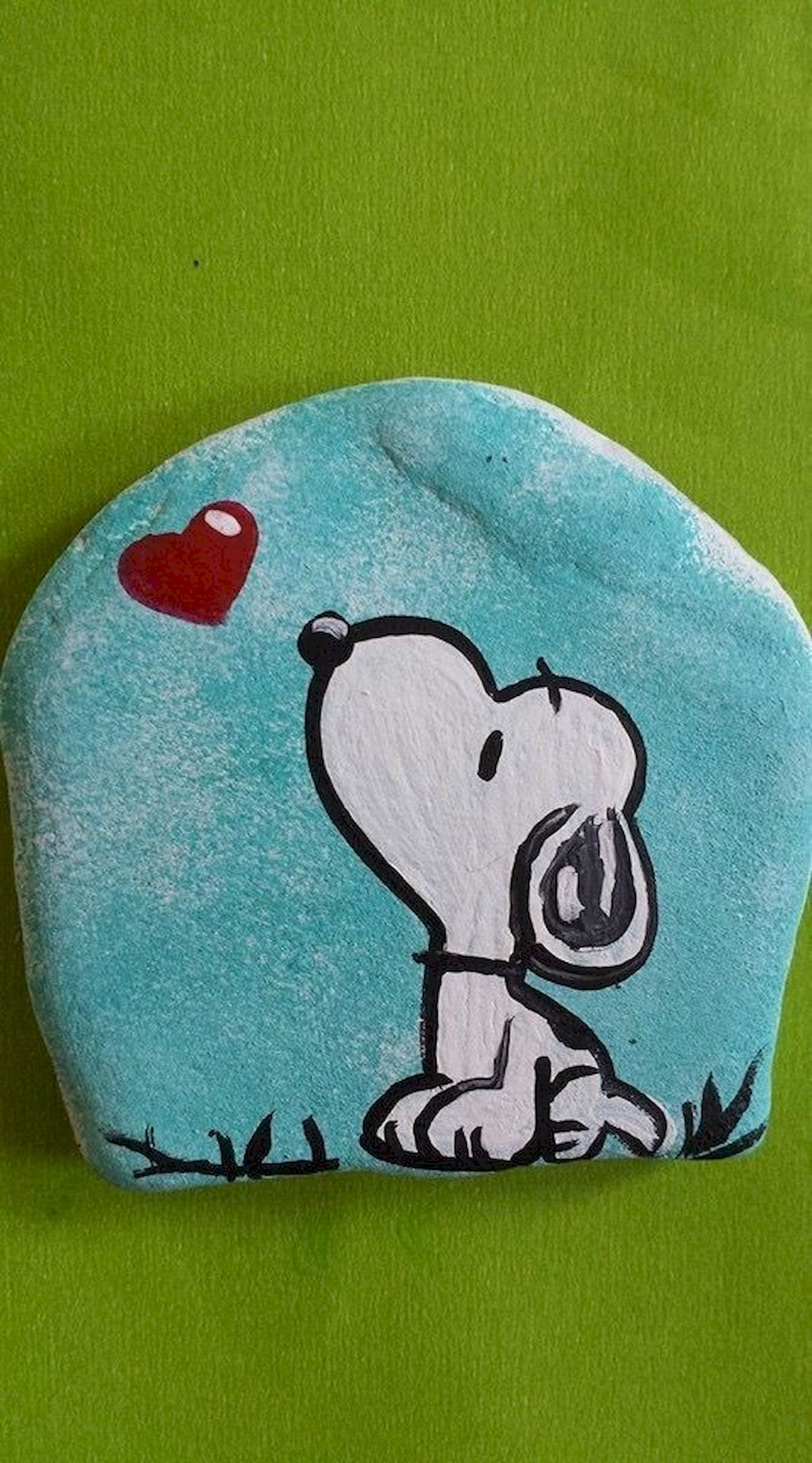 40 Favorite DIY Painted Rocks Animals Dogs for Summer Ideas (14)