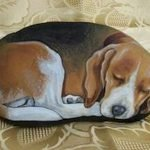 40 Favorite DIY Painted Rocks Animals Dogs For Summer Ideas (17)