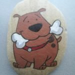 40 Favorite DIY Painted Rocks Animals Dogs For Summer Ideas (19)