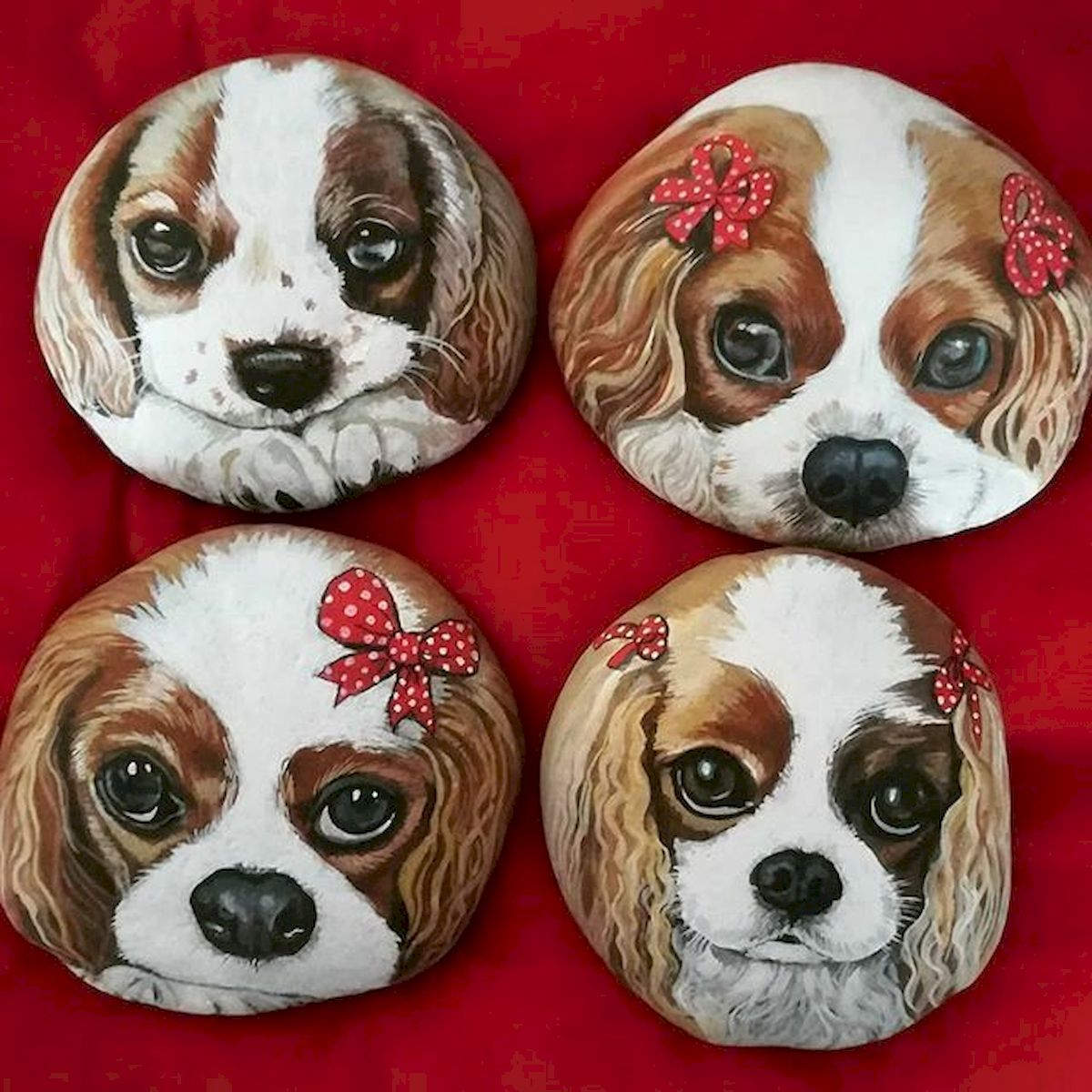 40 Favorite DIY Painted Rocks Animals Dogs for Summer Ideas (2)