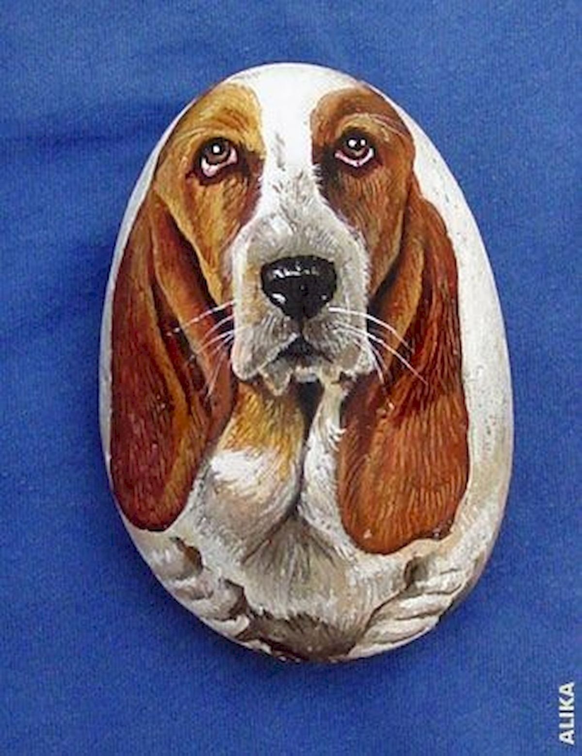 40 Favorite DIY Painted Rocks Animals Dogs for Summer Ideas (21)