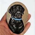 40 Favorite DIY Painted Rocks Animals Dogs For Summer Ideas (22)