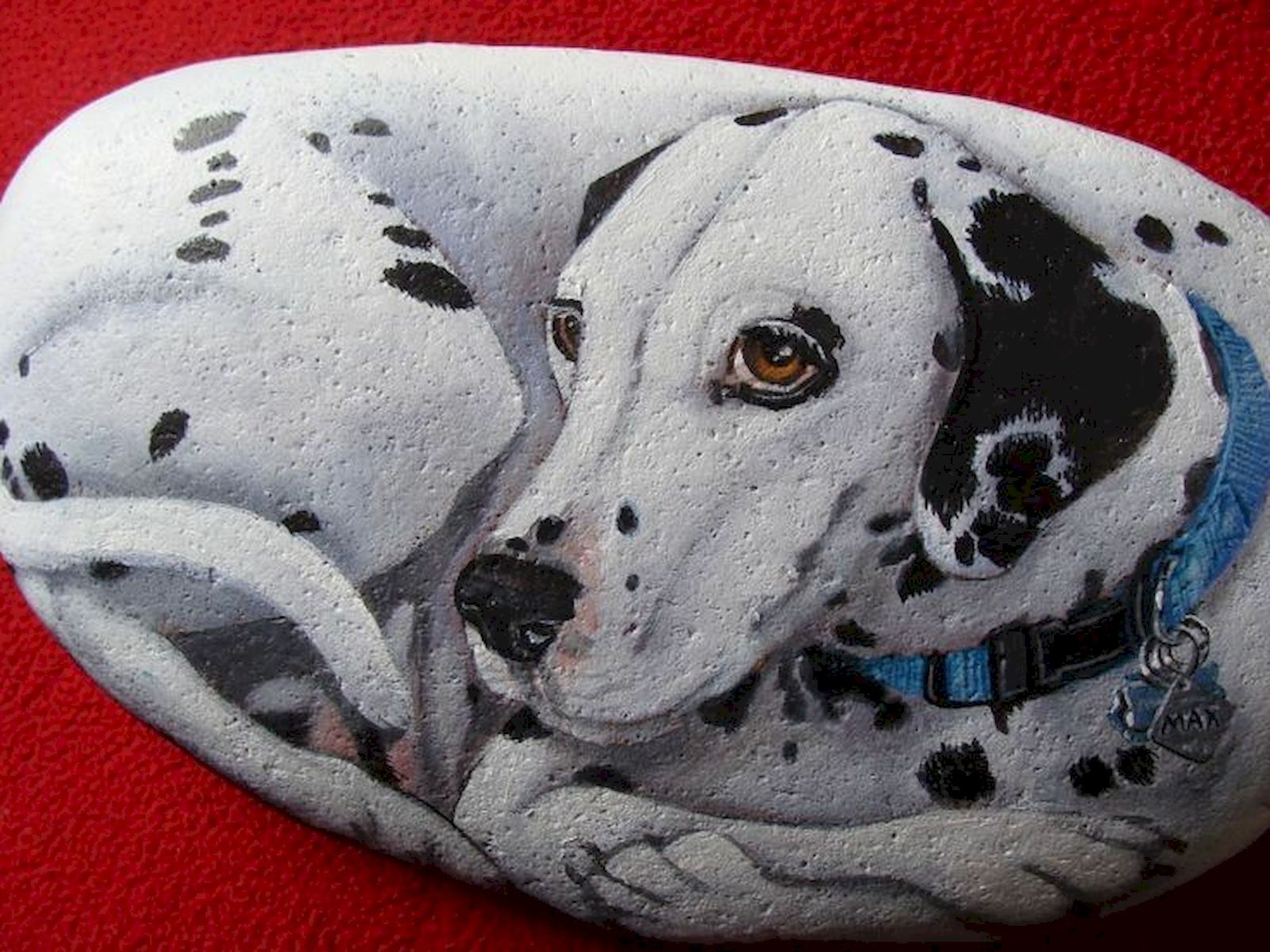 40 Favorite DIY Painted Rocks Animals Dogs for Summer Ideas (5)
