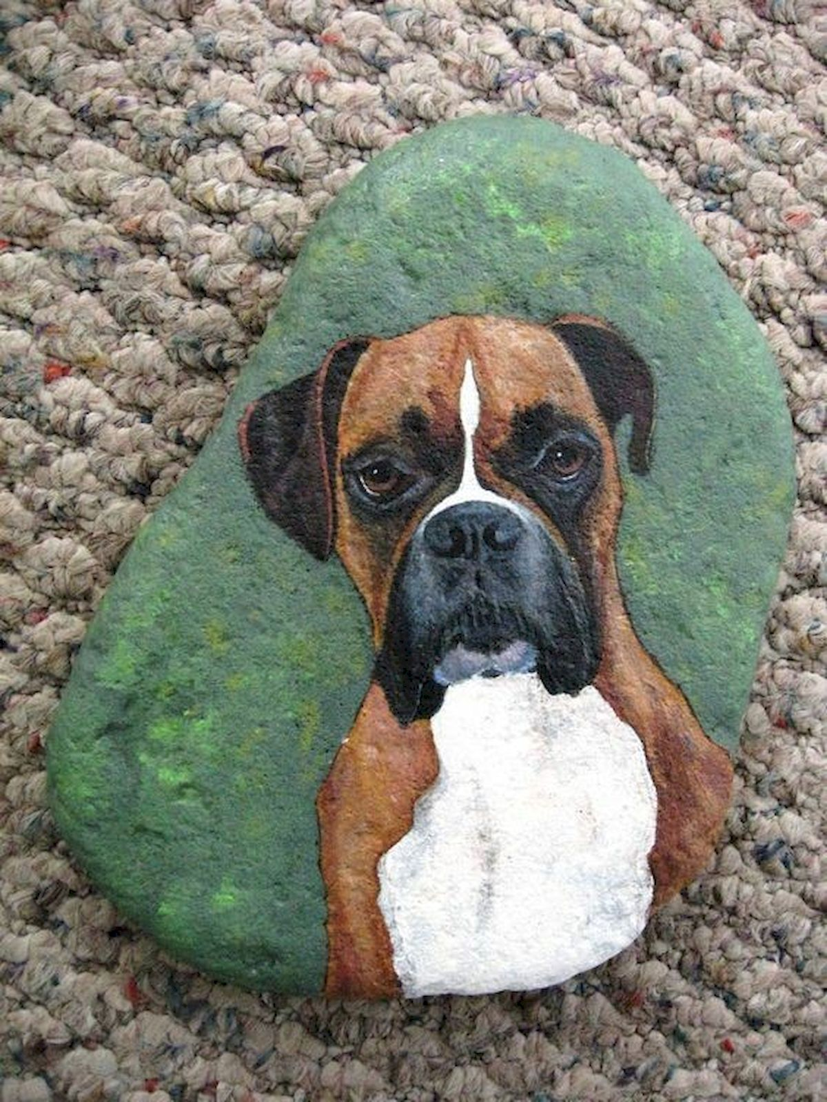 40 Favorite DIY Painted Rocks Animals Dogs for Summer Ideas (8)