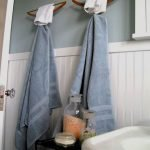 45 Creative DIY Towel Holder Ideas For Your Bathroom (15)