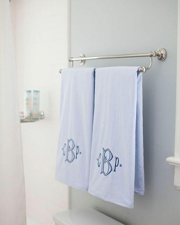 45 Creative DIY Towel Holder Ideas For Your Bathroom (2)