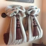 45 Creative DIY Towel Holder Ideas For Your Bathroom (39)