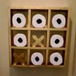 45 DIY Toilet Paper Holder and Storage Ideas (13)