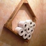 45 DIY Toilet Paper Holder and Storage Ideas (18)