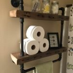 45 DIY Toilet Paper Holder and Storage Ideas (22)