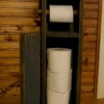 45 DIY Toilet Paper Holder and Storage Ideas (25)
