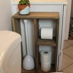 45 DIY Toilet Paper Holder and Storage Ideas (9)
