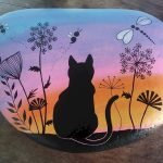50 Best DIY Painted Rocks Animals Cats For Summer Ideas (10)