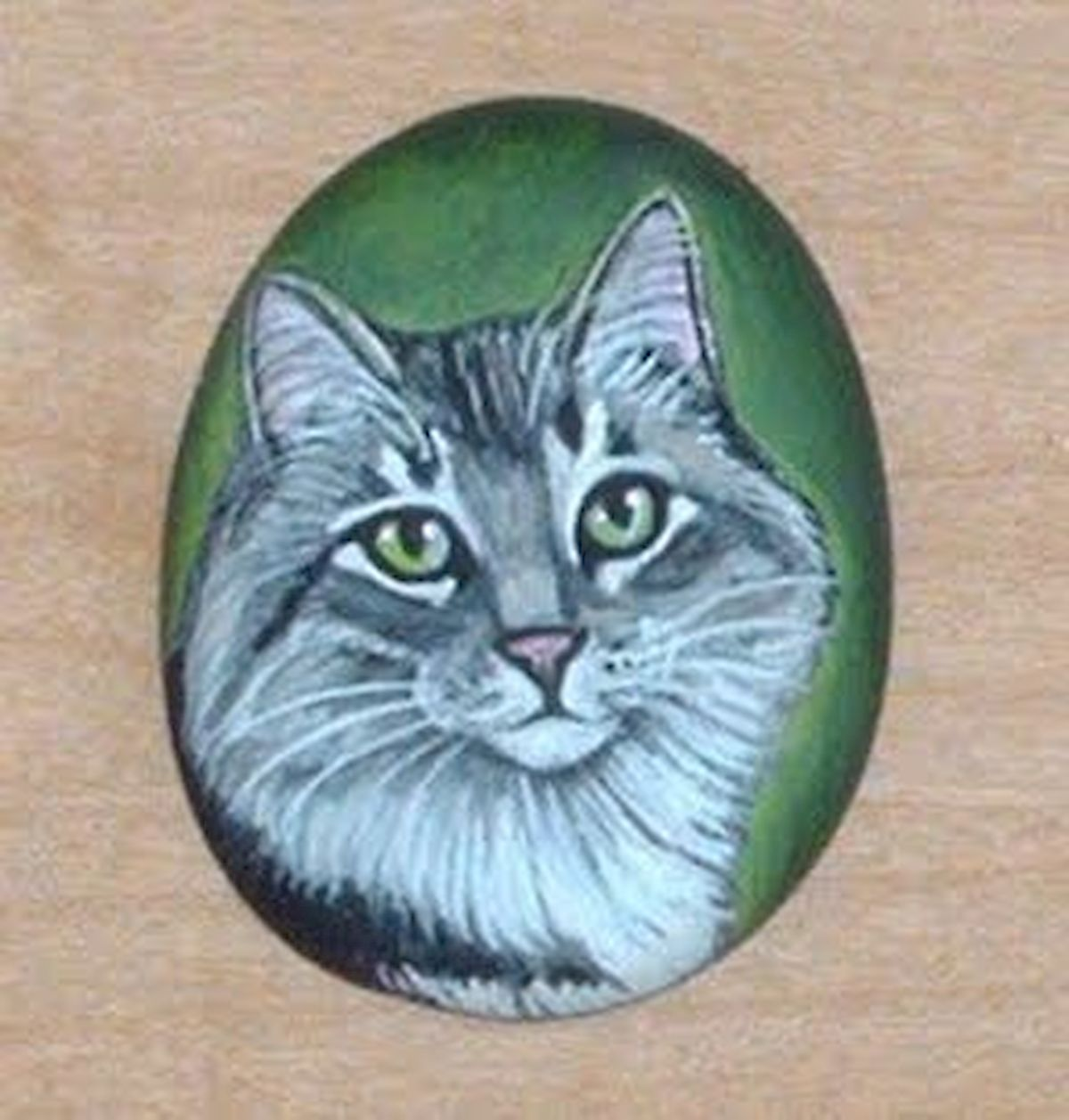 50 Best DIY Painted Rocks Animals Cats for Summer Ideas (37)