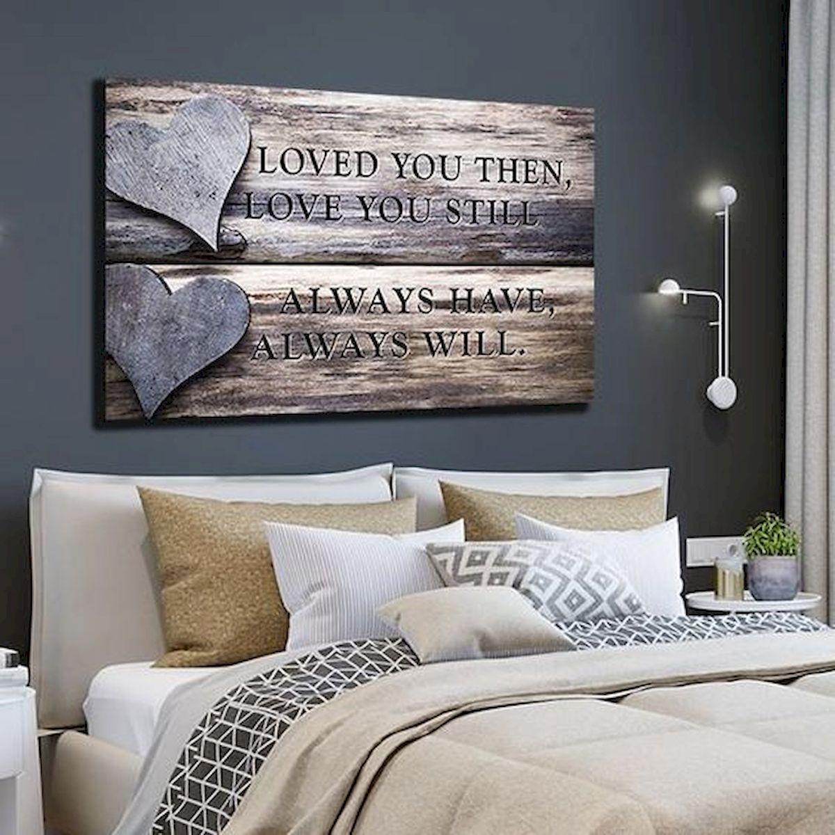 55 Romantic DIY Bedroom Decor for Couple (24)