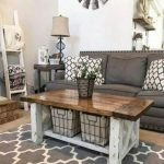 60 DIY Furniture Living Room Table Design Ideas (28)
