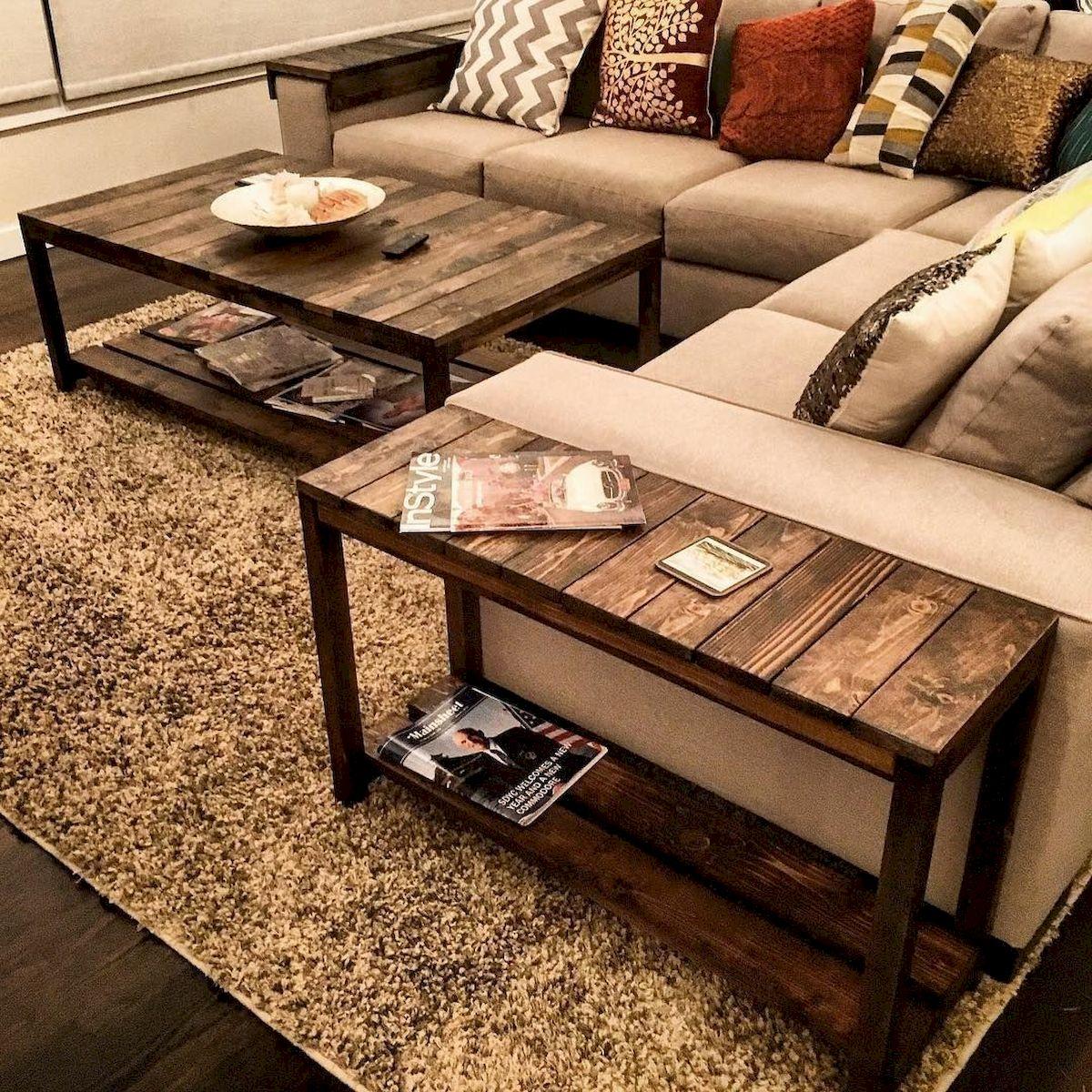 60 DIY Furniture Living Room Table Design Ideas (53)