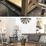 60 DIY Furniture Living Room Table Design Ideas (59)
