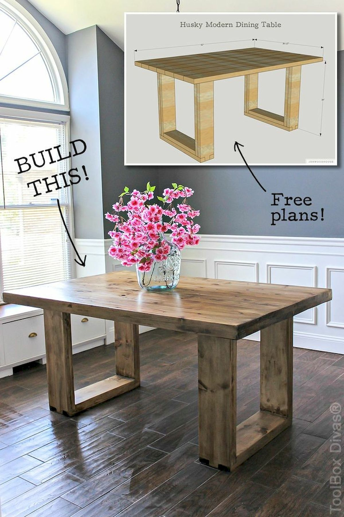 60 Easy DIY Wood Furniture Projects Ideas (49)