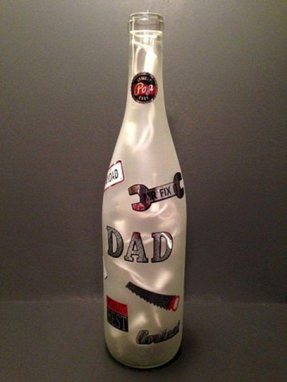 76 Best DIY Wine Bottle Craft Ideas (11)