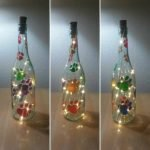 76 Best DIY Wine Bottle Craft Ideas (12)