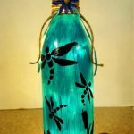 76 Best DIY Wine Bottle Craft Ideas (14)