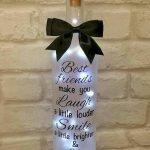 76 Best DIY Wine Bottle Craft Ideas (16)