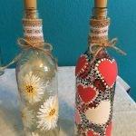 76 Best DIY Wine Bottle Craft Ideas (17)