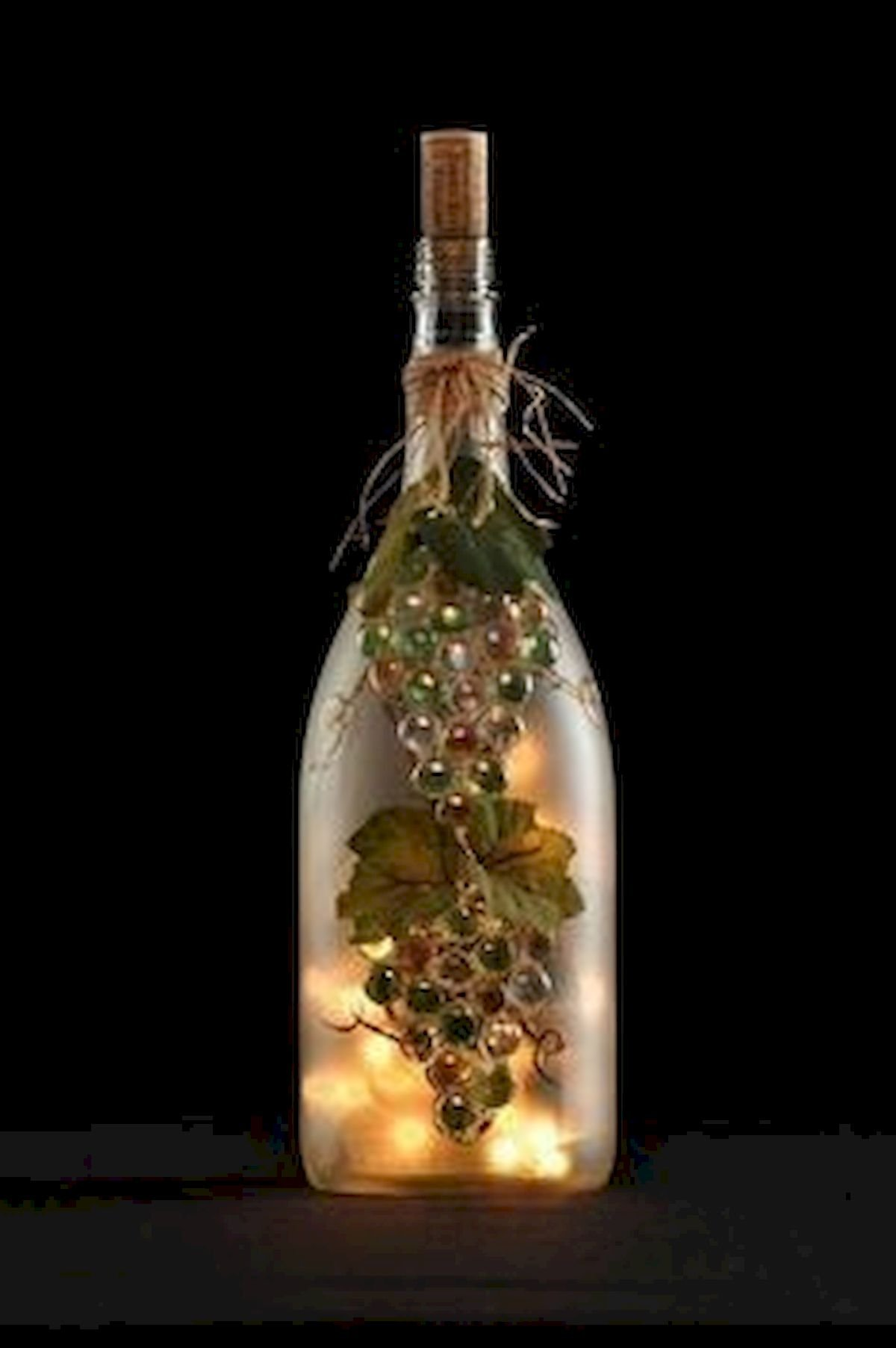 76 Best DIY Wine Bottle Craft Ideas (2)