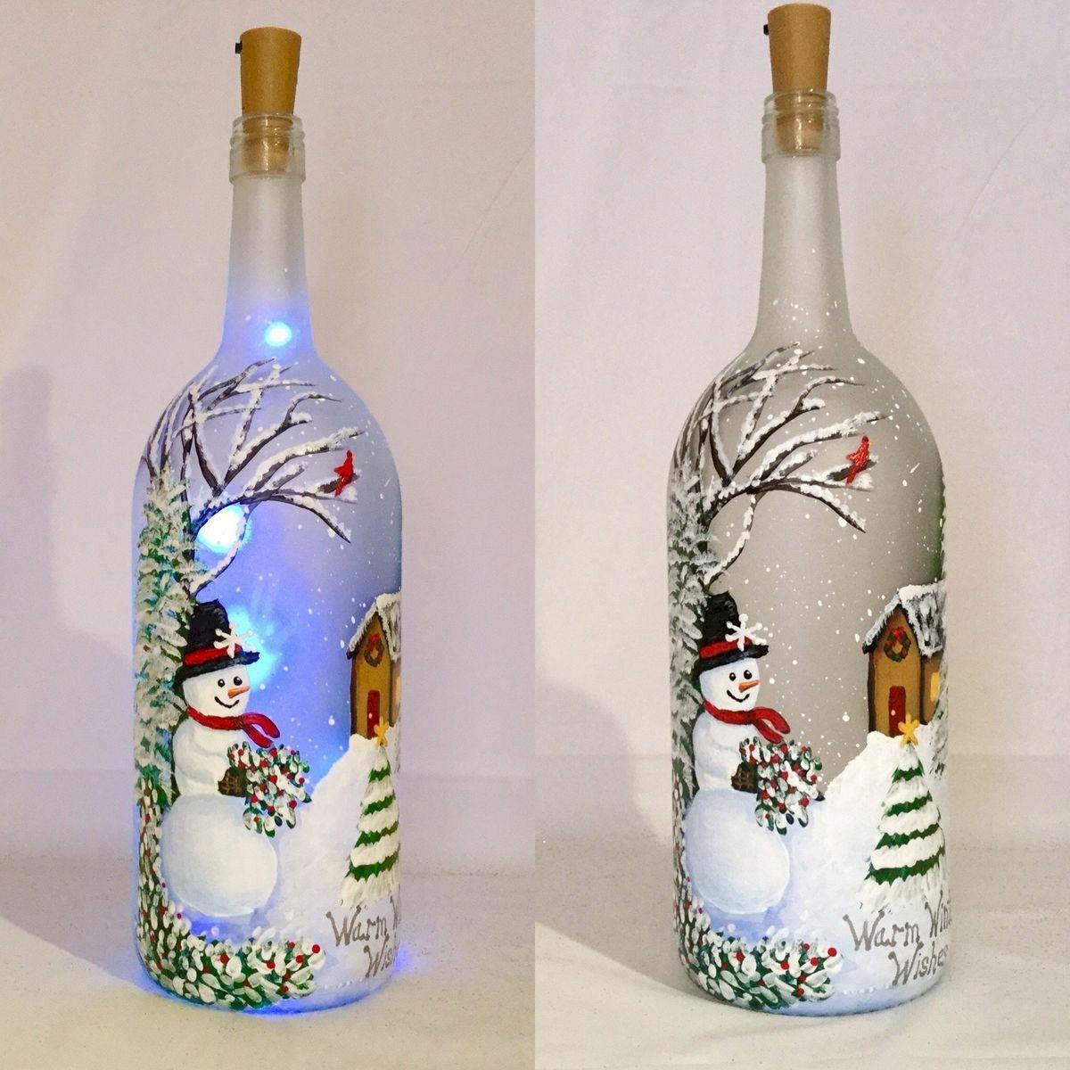 76 Best DIY Wine Bottle Craft Ideas (23)