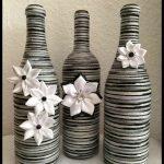 76 Best DIY Wine Bottle Craft Ideas (31)