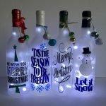 76 Best DIY Wine Bottle Craft Ideas (34)