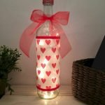 76 Best DIY Wine Bottle Craft Ideas (40)