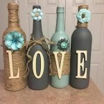 76 Best DIY Wine Bottle Craft Ideas (47)
