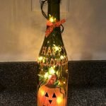 76 Best DIY Wine Bottle Craft Ideas (49)