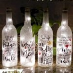 76 Best DIY Wine Bottle Craft Ideas (50)