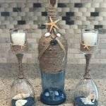 76 Best DIY Wine Bottle Craft Ideas (52)