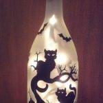 76 Best DIY Wine Bottle Craft Ideas (55)