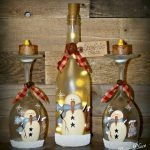 76 Best DIY Wine Bottle Craft Ideas (60)