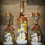 76 Best DIY Wine Bottle Craft Ideas (60)