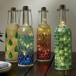 76 Best DIY Wine Bottle Craft Ideas (63)