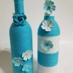 76 Best DIY Wine Bottle Craft Ideas (69)