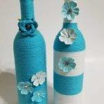 76 Best DIY Wine Bottle Craft Ideas (69)