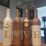 76 Best DIY Wine Bottle Craft Ideas (75)
