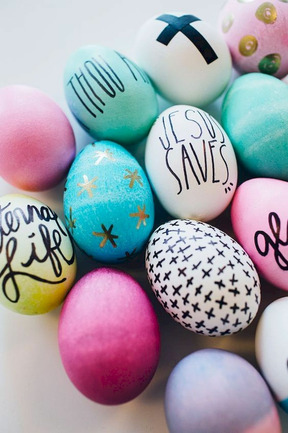90 Awesome DIY Easter Eggs Ideas (13)