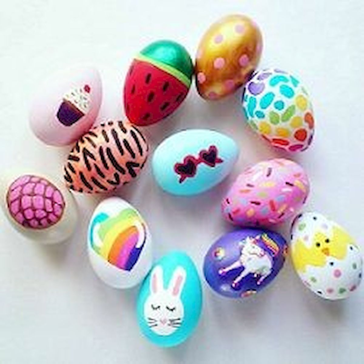 90 Awesome DIY Easter Eggs Ideas (25)